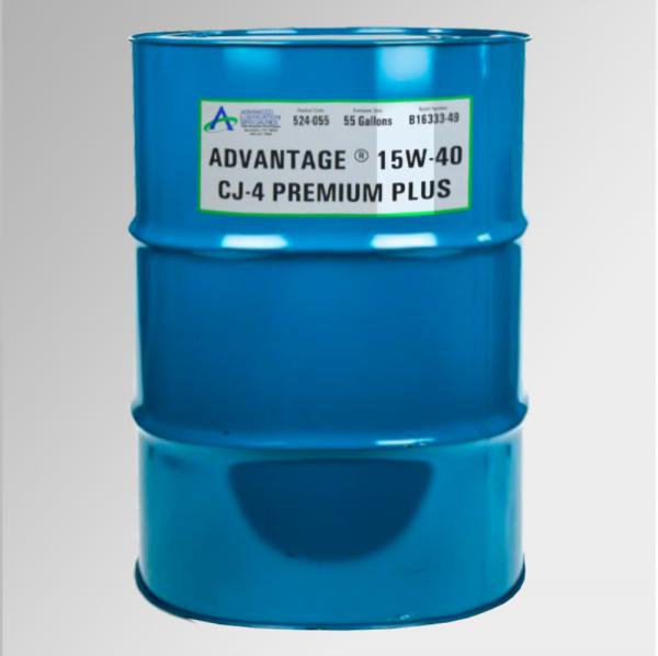 Advantage 15W 40 CJ 4 Premium Plus 55 Gal