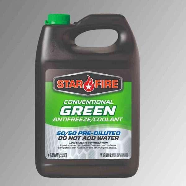 Conventional Green Antifreeze