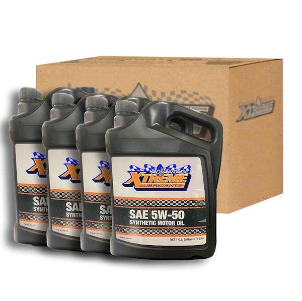 xtreme lubricants 5w-50-1gal-case