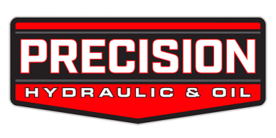 precision hydraulic oil logo