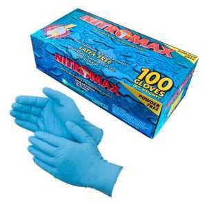 NitroMax Powder Free Nitrile Exam Gloves copy