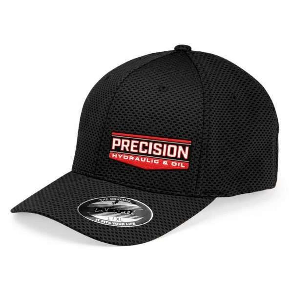 Precision_Black FlexFit Hat