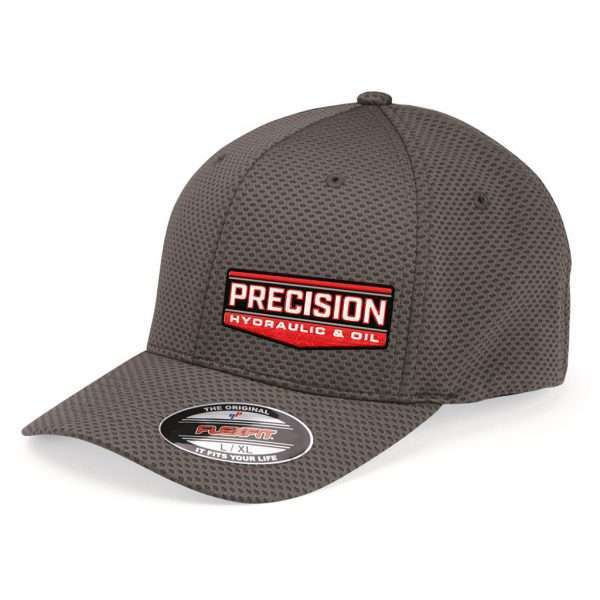 Precision_Grey FlexFit Hat