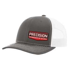 Precision_Grey Trucker Hat